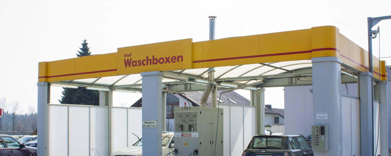 Shell Station Hutthurm - Waschboxen