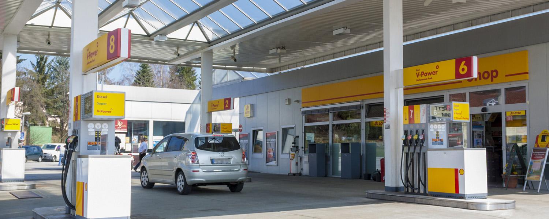 Shell Station Hutthurm - Zapfsäulen
