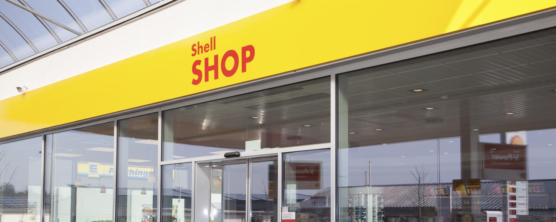 Shell Station Salzweg - Shop