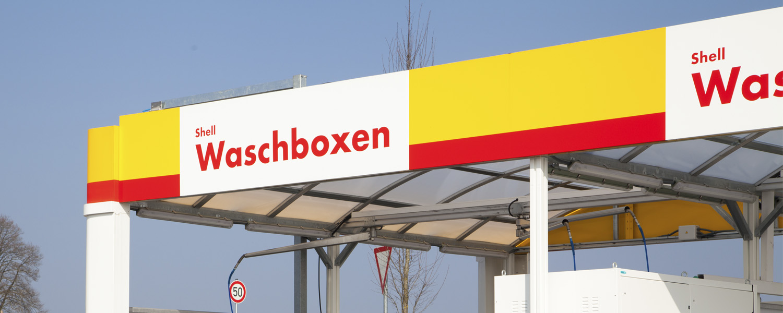Shell Station Salzweg - Waschboxen
